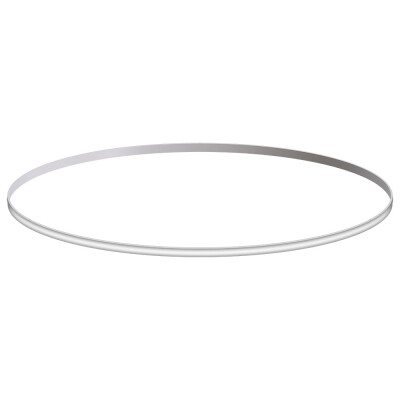 KIT - Perfil aluminio circular CYCLE OUT, Ø1400mm, blanco