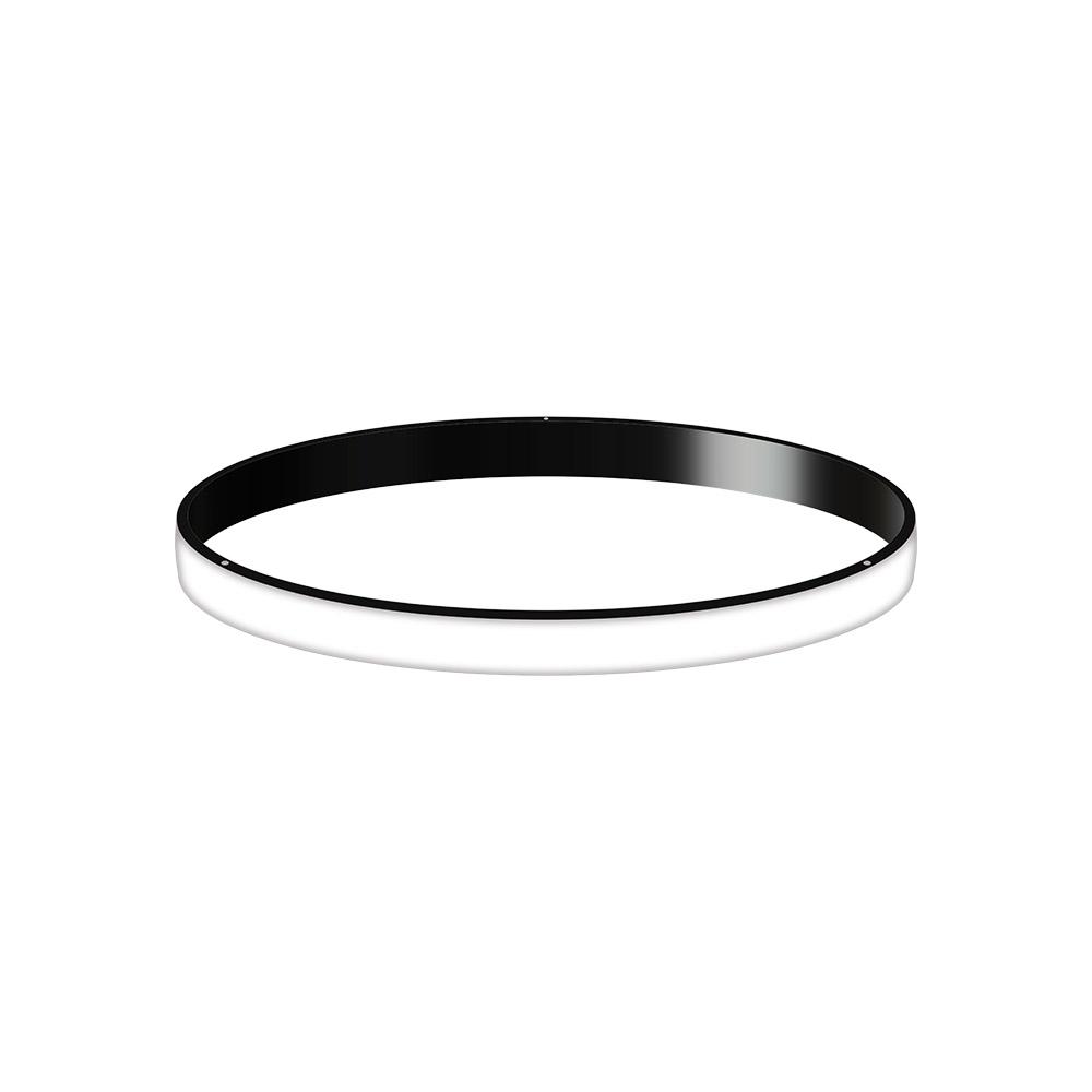 KIT - Perfil aluminio circular CYCLE OUT, Ø400mm, negro