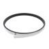 KIT - Perfil aluminio circular CYCLE OUT, Ø1000mm, negro