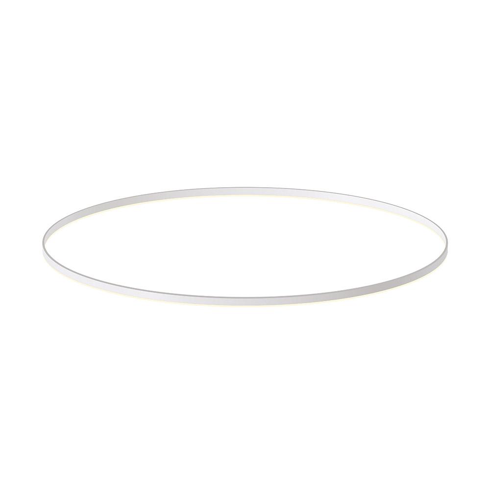 KIT - Perfil aluminio circular RING, Ø1500mm, branco