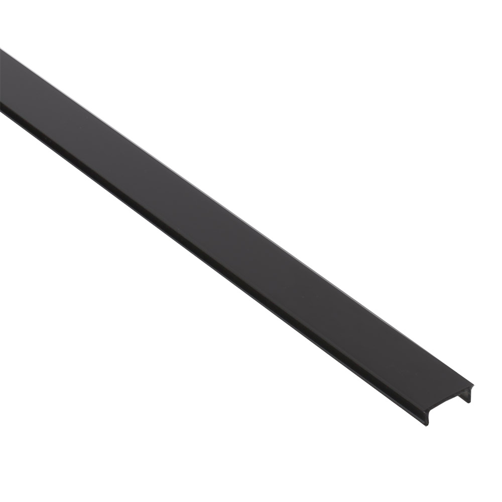 Cobertura preta para perfil PHANTER S1, 2 metros