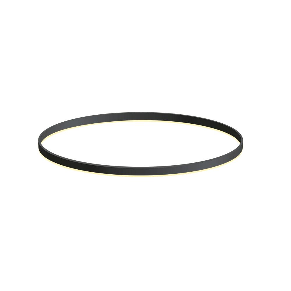 KIT - Perfil aluminio circular RING, Ø900mm, negro