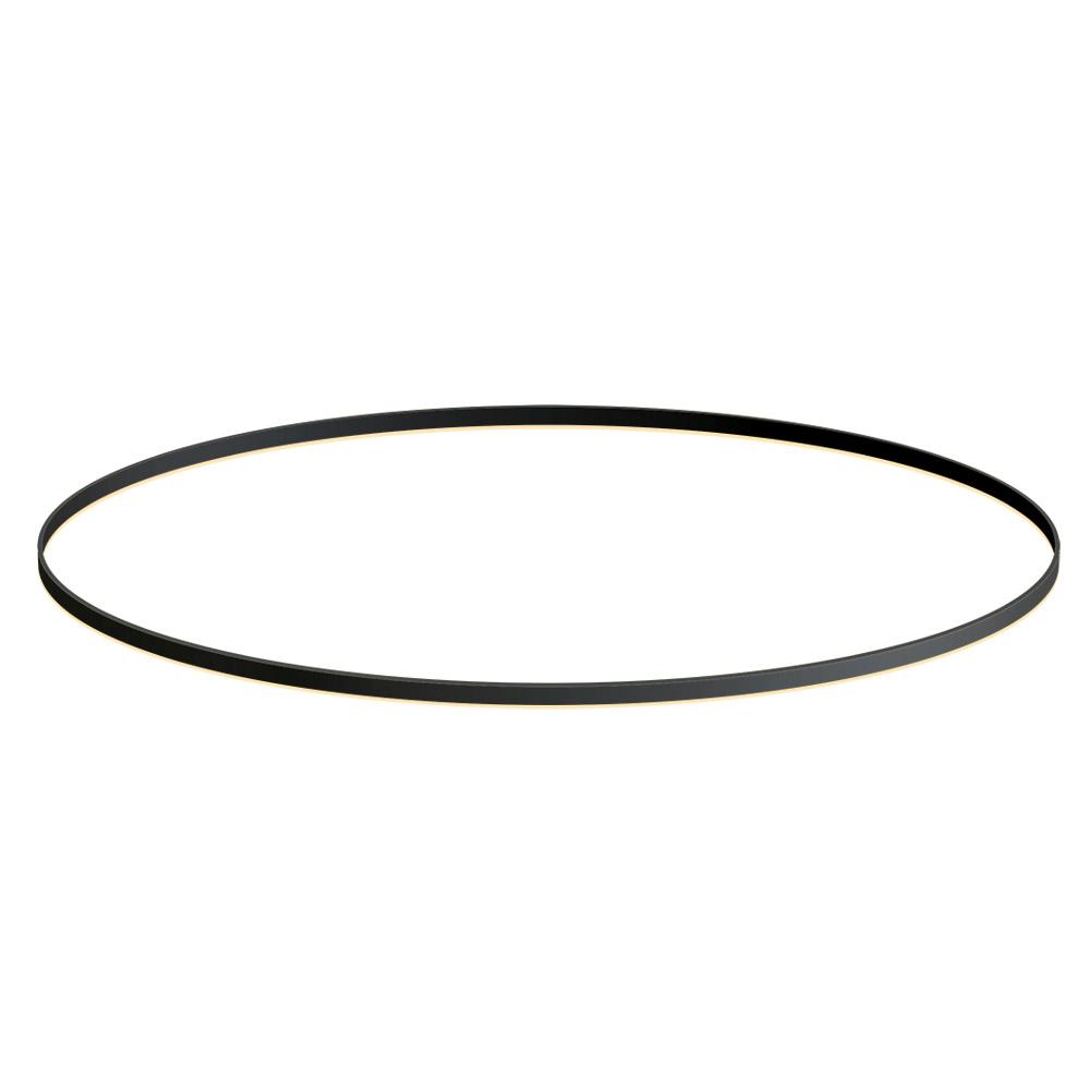 KIT - Perfil aluminio circular RING, Ø1800mm, preto