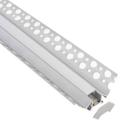 KIT Perfil arquitectonico aluminio LING 1 metro