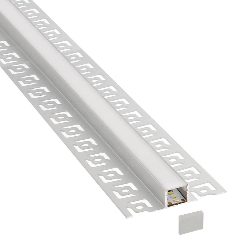 KIT Perfil arquitectónico aluminio LIG 3 metros