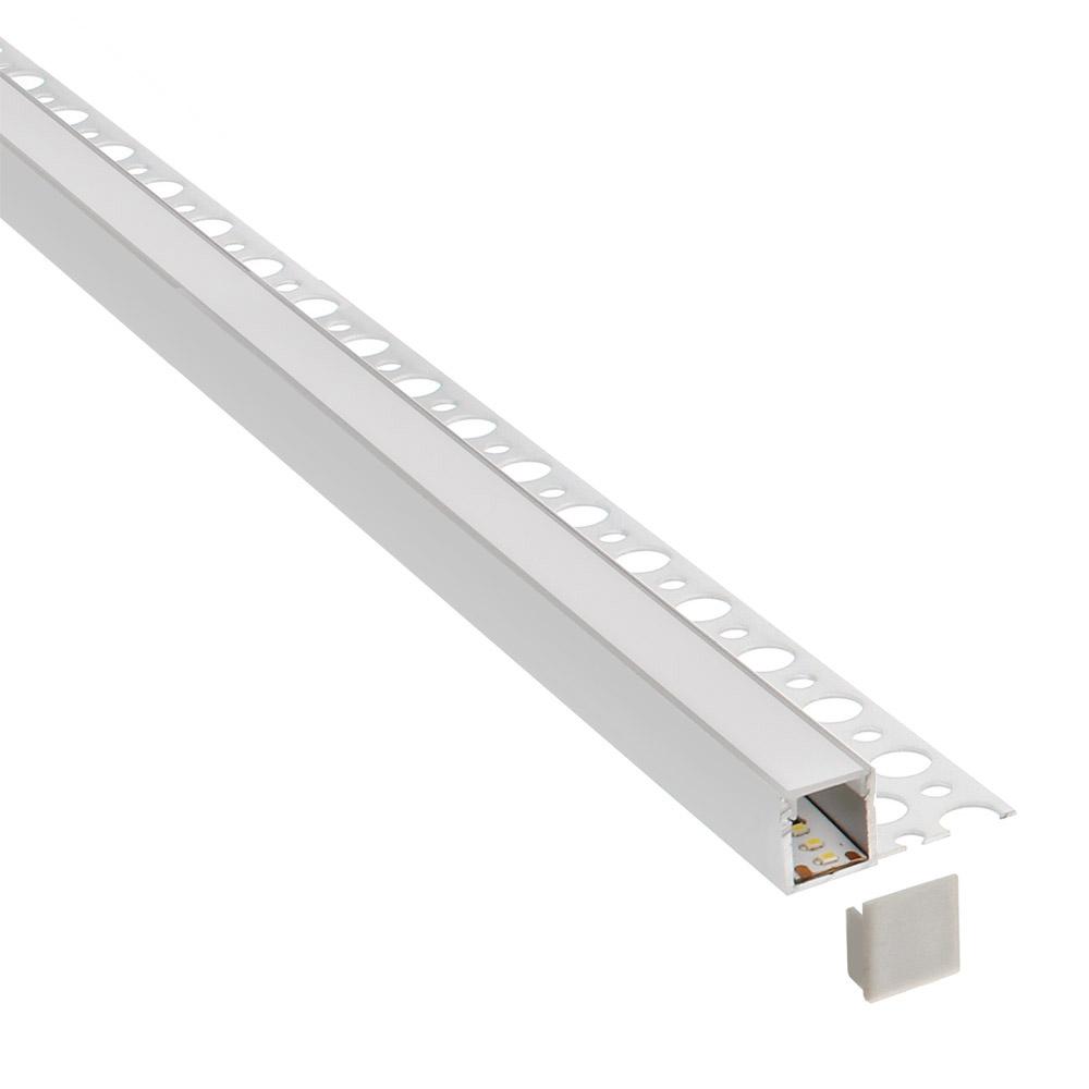 KIT Perfil arquitectónico aluminio REP 3 metros