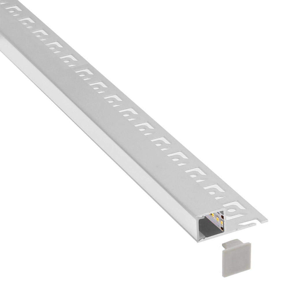 KIT Perfil arquitectónico aluminio HOM 3 metros
