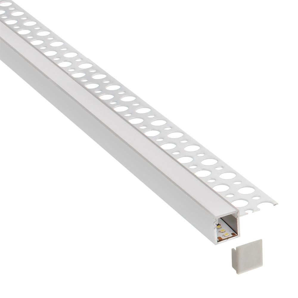 KIT Perfil arquitectónico aluminio RUM 3 metros