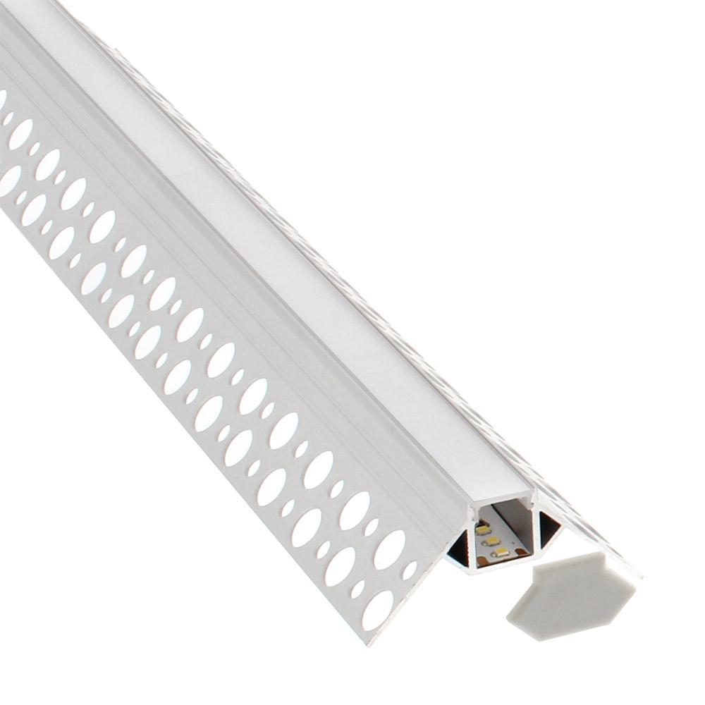 KIT Perfil arquitectónico aluminio KAR 3 metros