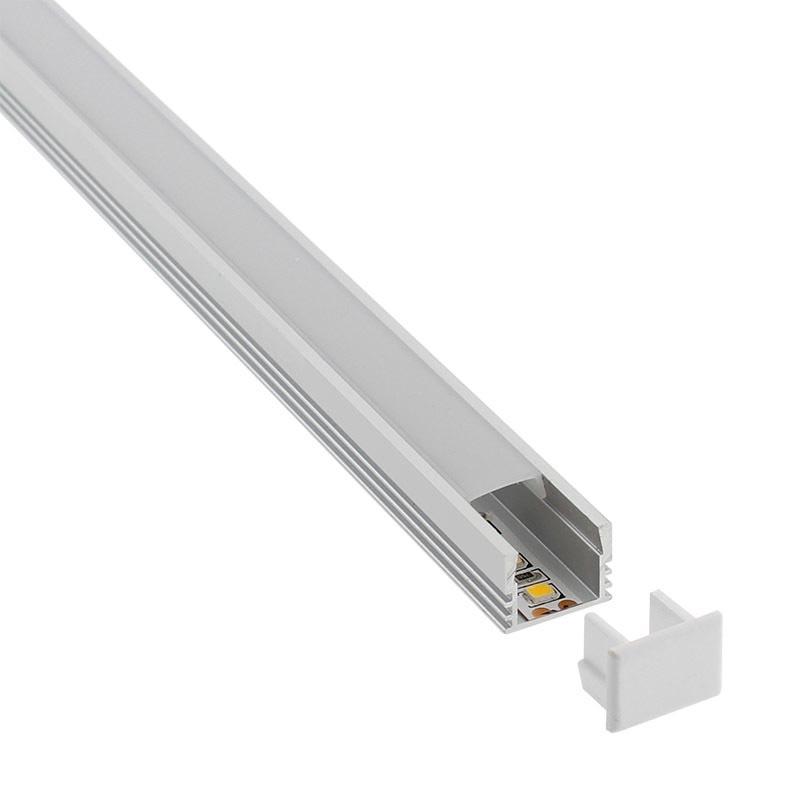 Couvercles des profilés Cambel pour bandes LED