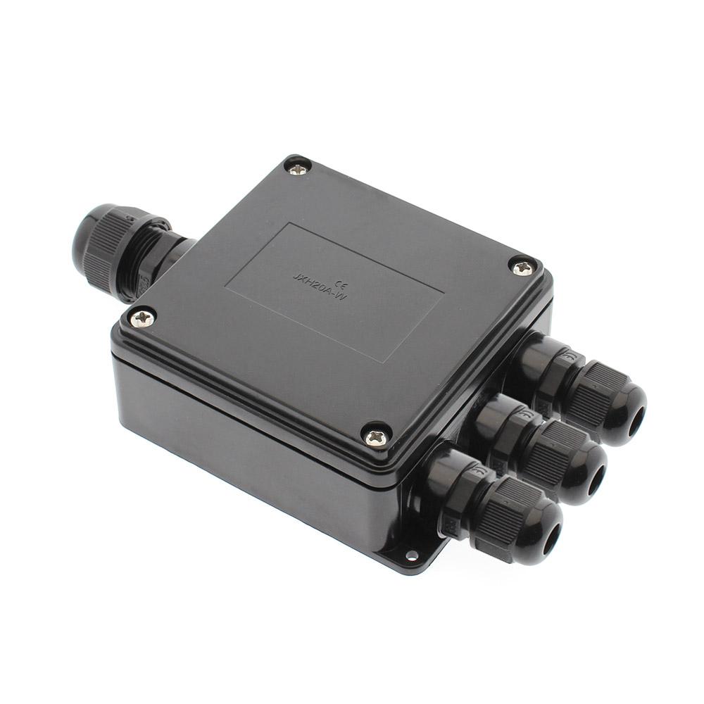 Caixa estanque IP68 para conexões 1+3