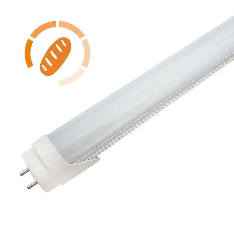 Tubo LED T8, 9W, 60cm, Pan y repostería