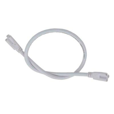 Cable con conector (x2) para tubos T5 / T8, 100cm