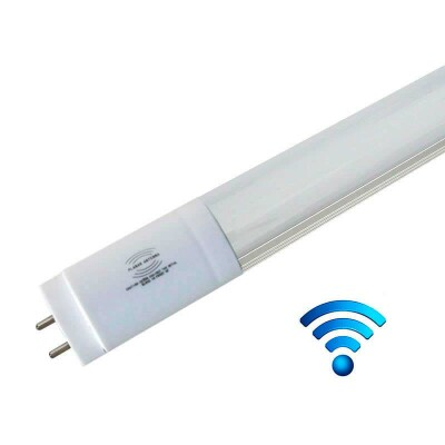Tubo LED T8 con Sensor Radar de presencia, 9W, 60cm, 20-100%, Blanco frío