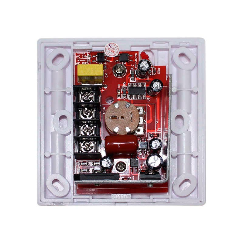 Regulador TRIAC Dimmer PWM + mando IR, 500W
