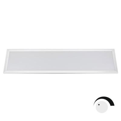 Panel 40W, ChipLed Samsung + TUV driver, 30x120cm, TRIAC regulable, blanco, Blanco cálido, Regulable