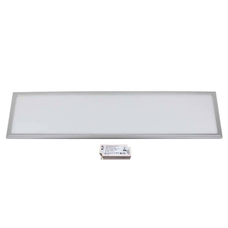 Panel 50W, ChipLed Samsung + TUV driver, 30x120cm, marco silver