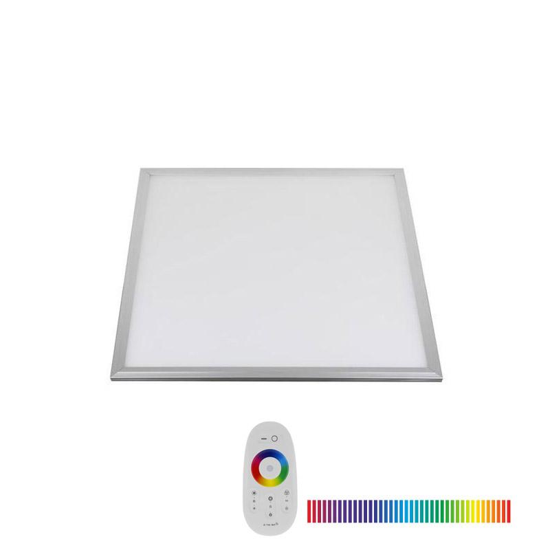 Panel LED 15W, RGB, RF, 30x30cm