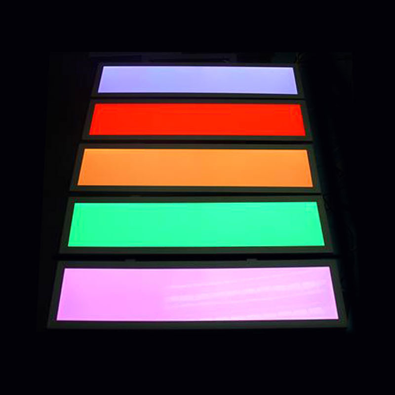 Panel LED 40W, RGB, RF, 30x120cm