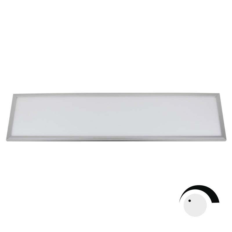 Panel 50W, ChipLed Samsung + TUV driver, 30x120cm, TRIAC regulable, silver