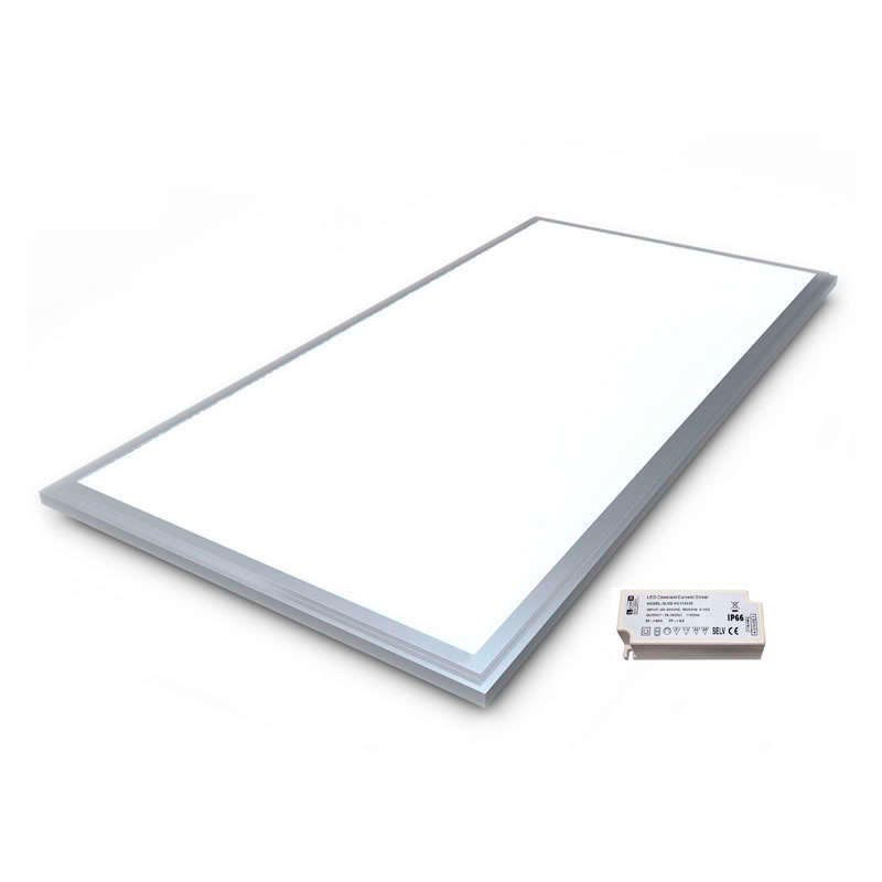LED Panel 80W, 595x1195mm, silver frame