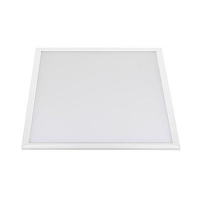 Panel 50W, Samsung ChipLed + TUV driver, 60x60 cm, marco blanco, Blanco cálido