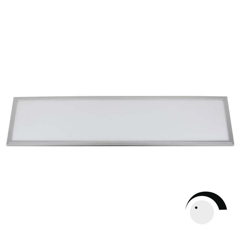 Panel LED 50W Samsung SMD5630, 30x120cm, 0-10V regulable, Blanco cálido, Regulable