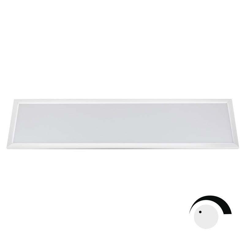 Panel LED 40W LIFUD SMD4014, 30x120cm, 0-10V regulable, Blanco cálido, Regulable