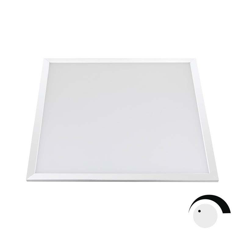 Panel LED 40W LIFUD SMD4014, 60x60cm, 0-10V regulable, Blanco cálido, Regulable