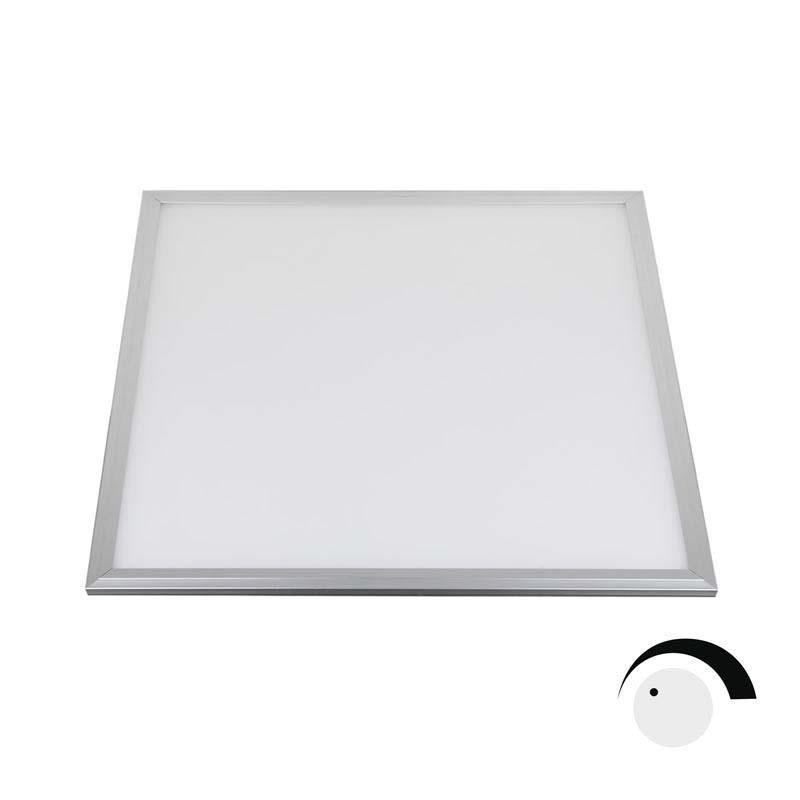 Panel LED 50W Samsung SMD5630, 60x60cm, 0-10V regulable, Blanco cálido, Regulable