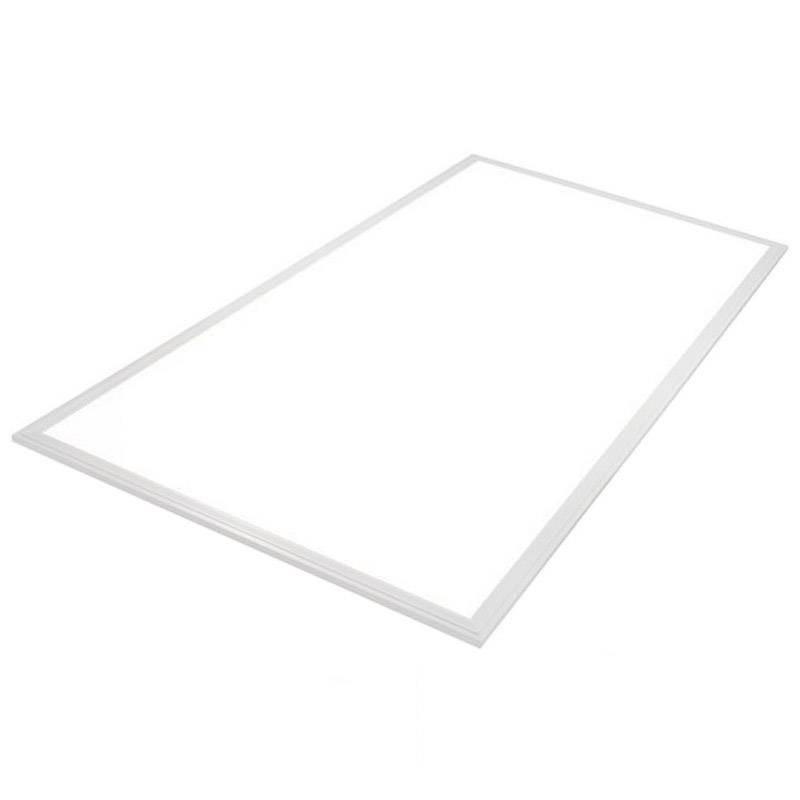 Panel LED 80W, Samsung ChipLed + TUV driver, 60x120cm, marco blanco, Blanco neutro