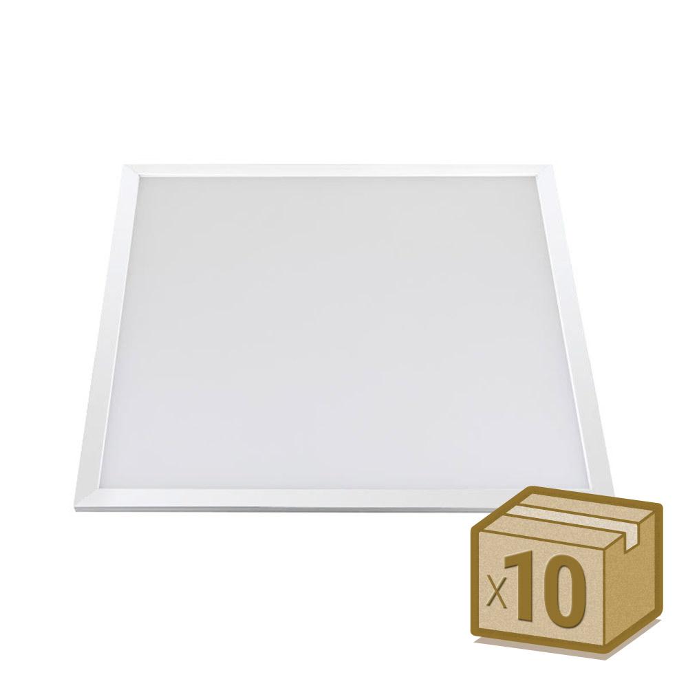Pack 10 x Paneles Led 40W Osram Chip Led, 60x60 cm