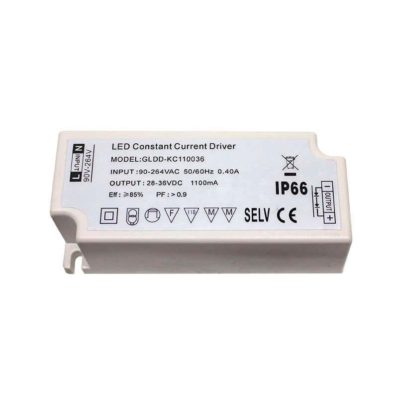 LED Driver DC28-36V/40W/1100mA