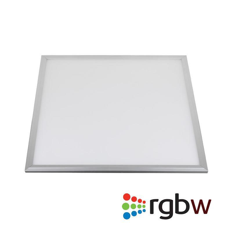 Panel LED 48W, RGB+WW, RF, 60x60cm, , Regulable