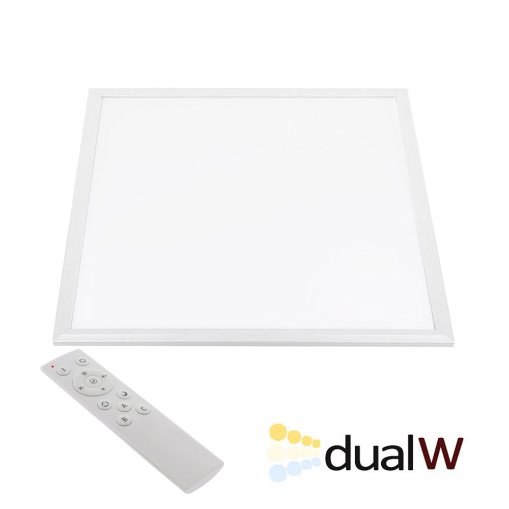 Panel LED 45W, Blanco DUAL, RF, 60x60cm