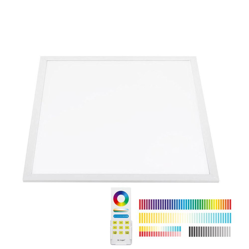 Painel LED 40W, FUT045A, RGB + CCT, RF, 60x60cm