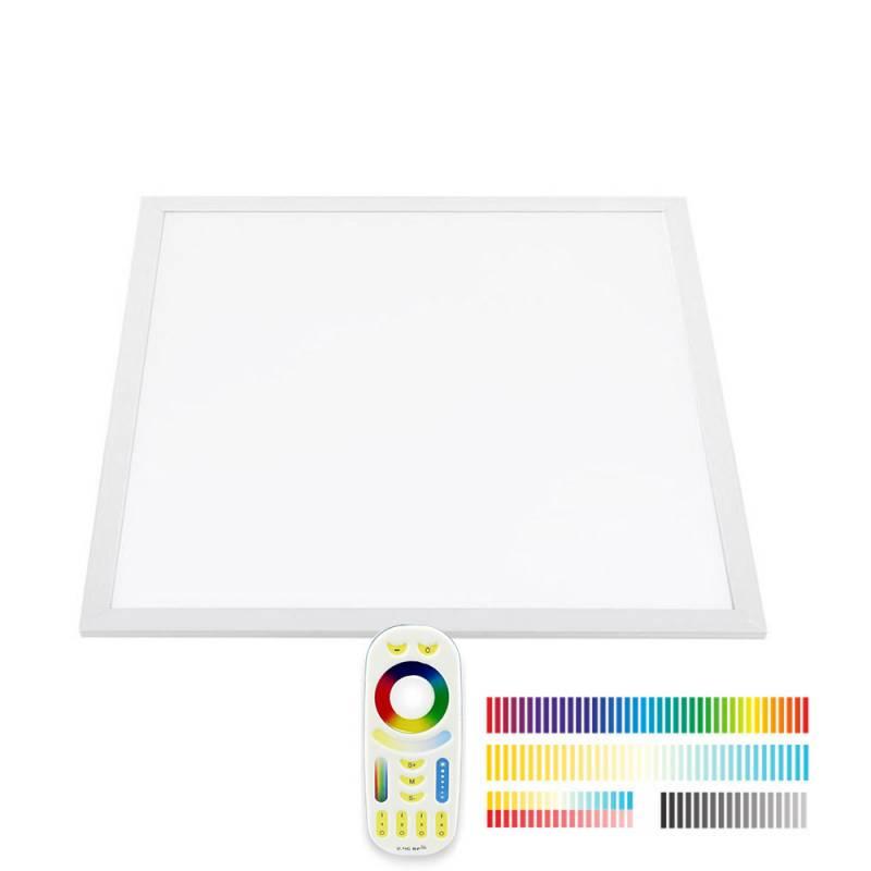 Panel LED Backlit 40W, FUT045A, RGB + CCT, RF, 60x60cm