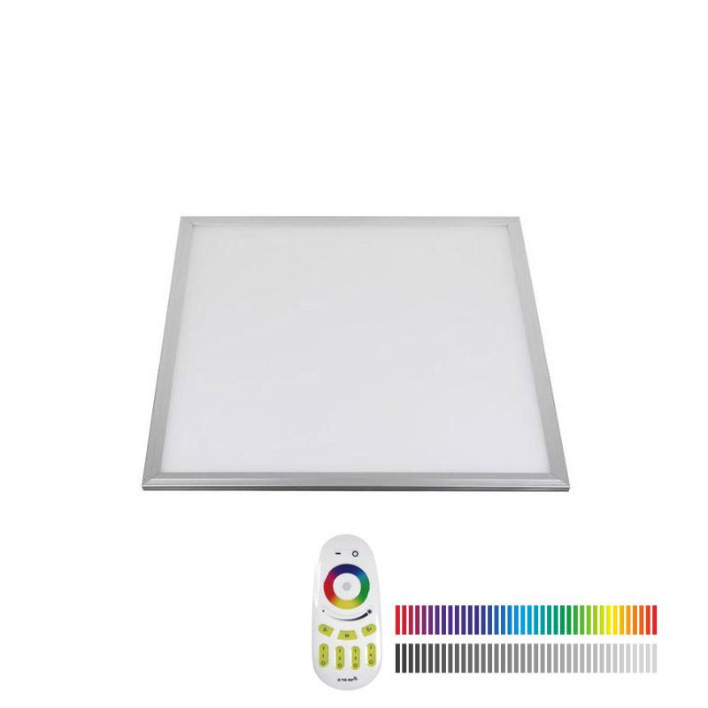 Panel LED 15W, RGB+CW, RF, 30x30cm