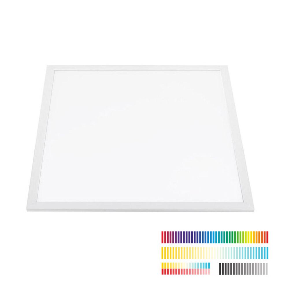Painel LED Backlit 40W, RGB + CCT, 60x60cm