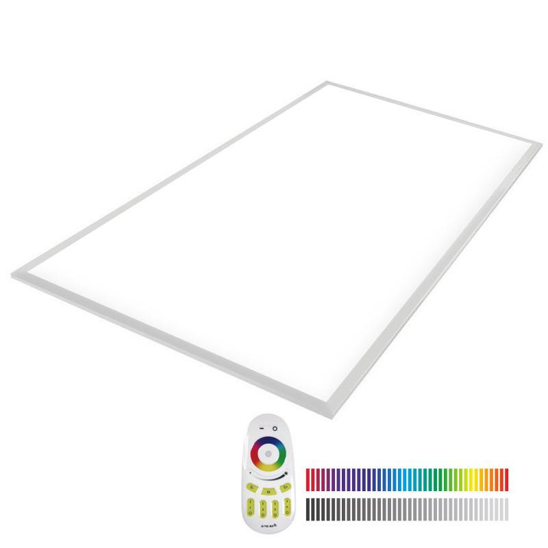 Painel LED 65W, RGB+CW, RF, 60x120cm