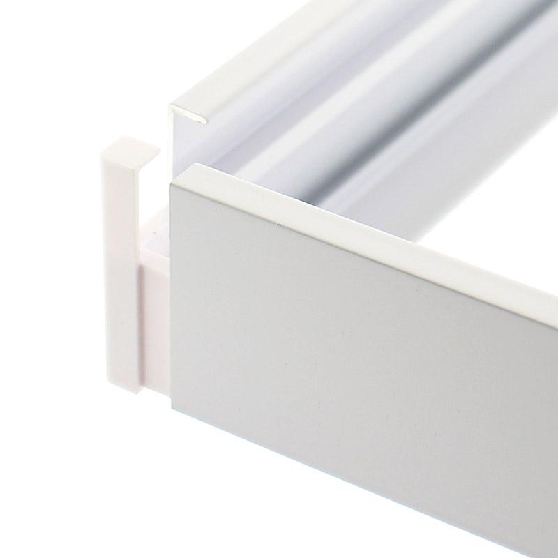 Kit soporte para techo de paneles led paneles led 60x60 for Paneles led de superficie