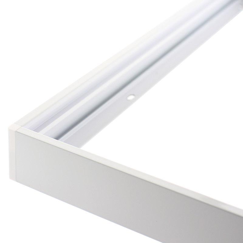 Kit marco Blanco para Panel Led 30x120cm