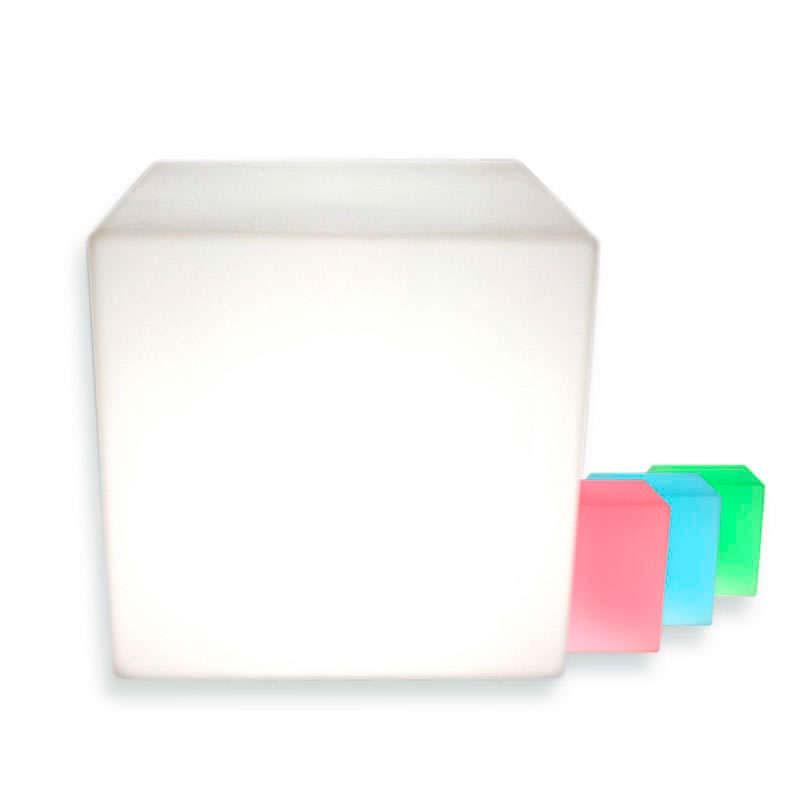Cubo luminoso led BIG KUB RGBW recargable