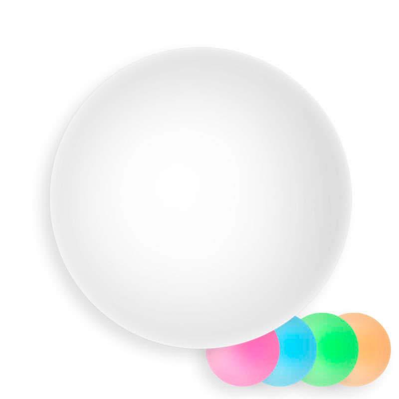 Esfera luminosa led 60cm RGBW recargable