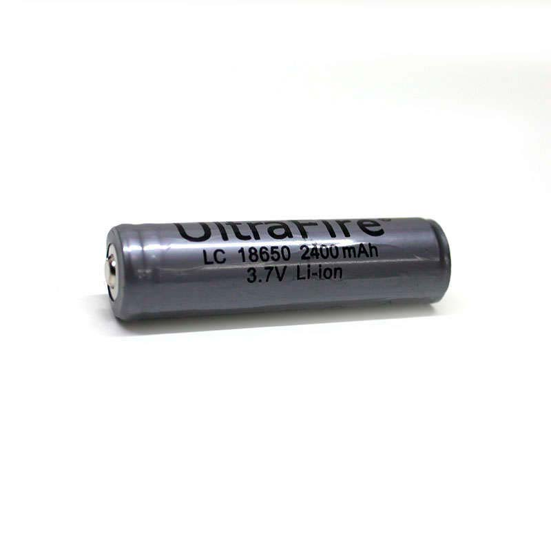 Batería recargable LC18650, 2400mAh, 3.7V Li-ion