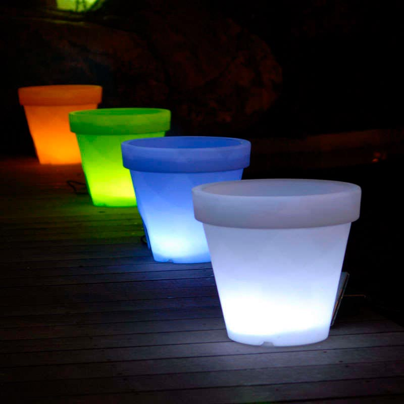 Led cube planter KANT Led RGB