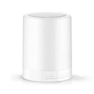 Touch Lamp Bluetooth Speaker mono, Blanco cálido, Regulable