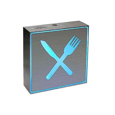 Signaled Restaurante, 10x10, Azul