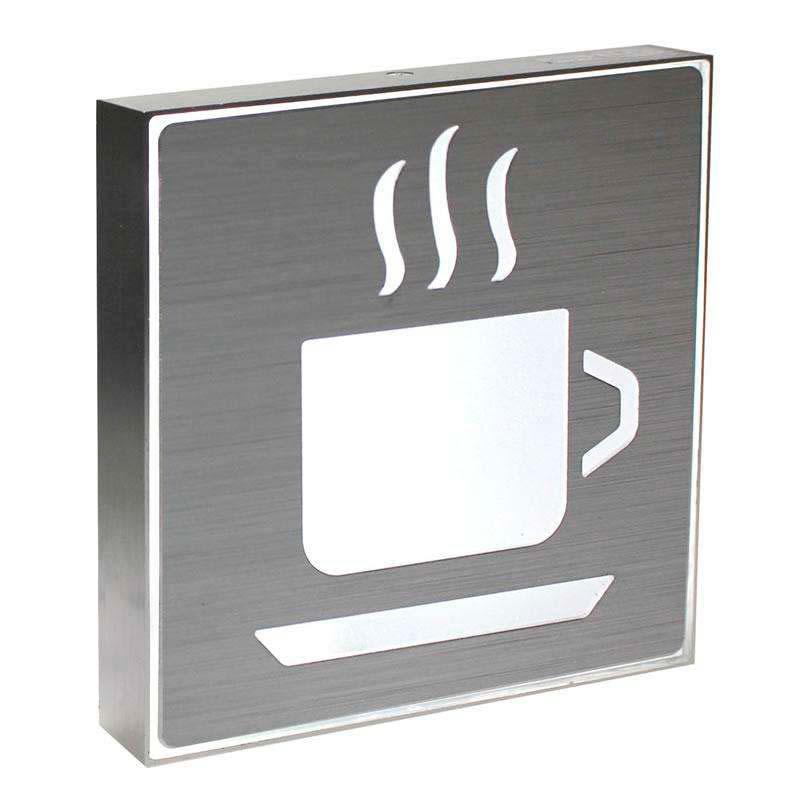 Signaled Cafetería, 20x20