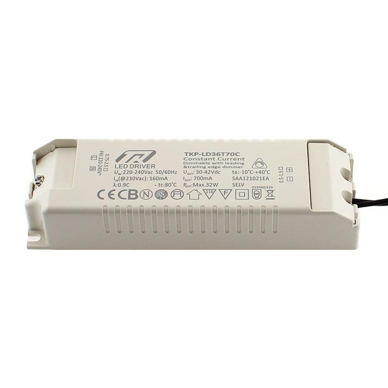LED Driver DC30-42V/30W/700mA, Regulable